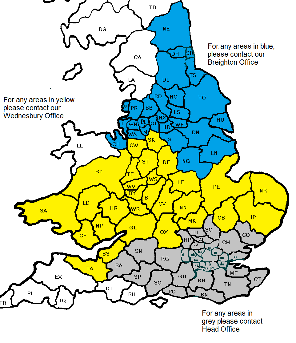 Tyre Recycling Collections Areas